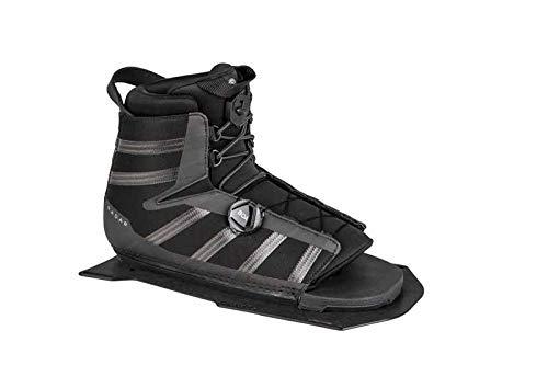 Radar Water Ski Vector BOA Boot - Carbon/Black - STD - Front Aluminum Plate (2019)