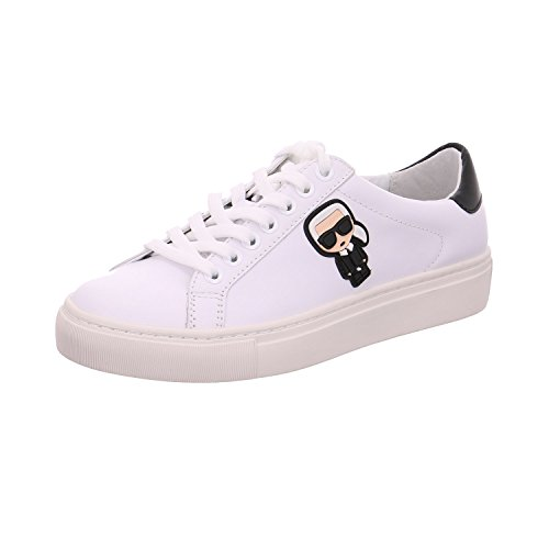 Karl Lagerfeld Shoes Sneakers Basse Da Donna Kl61030 011 Bianco Bianco