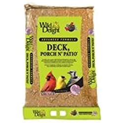 Wild Delight 374200 Deck Porch N Patio Birdfood, 20-Pound