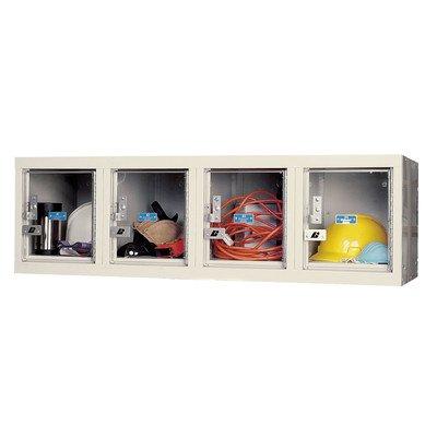 (Hallowell USVP14824WMAPT Safety-View Plus Locker, 48