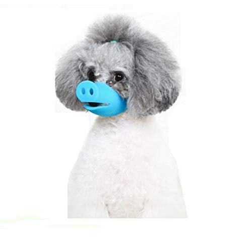 - Auch Adjustable Anti Bite Dog Mask Muzzles Dog Mouth Cover Pig Mouth Shape Anti Muzzle Masks Pet Mouth Bite