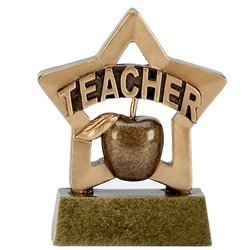 Mini Star Teacher Academic Trophy Award