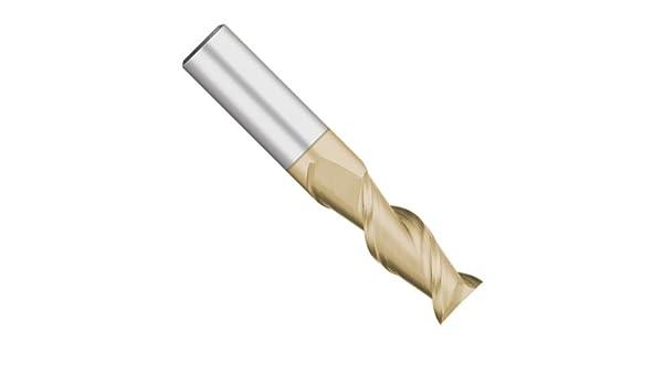 1 Length of Cut Kodiak Cutting Tools KODIAK149664 USA Made High Performance Solid Carbide End Mill for Aluminum 3//8 Shank 3//8 Diameter 2 Flute 45 Degree 2-1//2 Overall Length