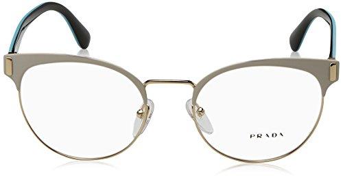 Gafas pale Monturas matte 0pr De White Para Mujer 63tv Prada Gold Multicolor pOIvHn
