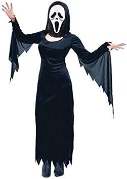 Partilandia Halloween Disfraz Asesina Scream (L): Amazon.es ...