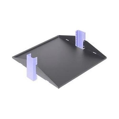 Innovation First, Inc Innovation 3USHL-022FULL-29DV 29'' Relay Rack Shelf, Black