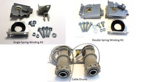 Wayne Dalton Garage Door TorqueMaster Original to Torquemaster Plus Conversion Kit Single Spring Winding Kit (333064)