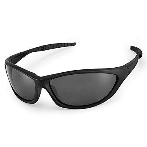 LATEC gepolariseerde zonnebrillen, sportzonnebrillen voor heren en dames met UV400-bescherming & TR90 onbreekbaar…