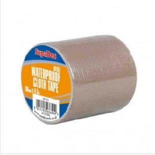 SupaDec Waterproof Cloth Tape 48mm x 4.5m Beige
