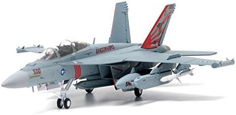 1/72スケール航空機モデル、軍用米海軍EA-18Gファイターモデル、アダルトグッズやギフト、9.3Inch X 6.3Inch