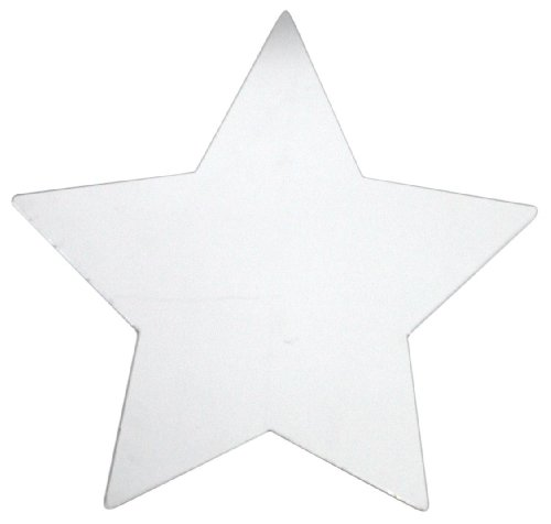 RoomMates MIR0004STL Large Star Peel & Stick