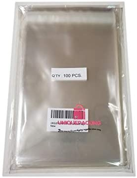 100 Pack holds 10-12 card sets A7 Clear Bag