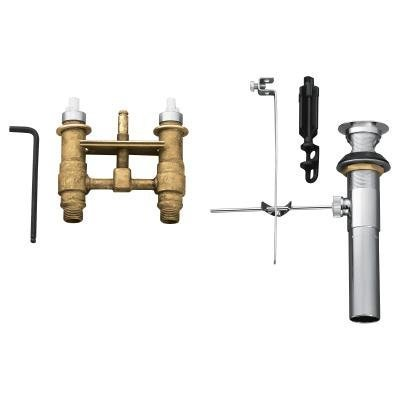 - Moen 9300 M-Pact Mini-Widespread Lavatory Rough-in Valve with Drain Assembly