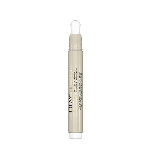 Effets Olay Total 7-en-1 anti-âge Crème pour les yeux et la brosse Dark Circle Minimiser, 0,2 onces