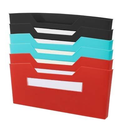 6pk Magnetic Folder Bin - Bullseye's Playground153; Multicolor