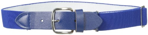 Softball Uniforms - Wilson Sporting Goods Youth Elastic Baseball Belt, 18-22-Inch, Royal Blue