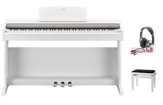 Yamaha arius wh set risparmio pianoforte digitale con sgabello
