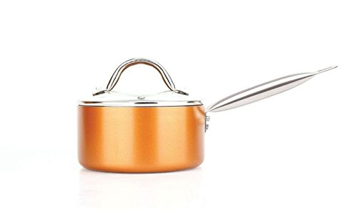 Copper H-02628 Luxury Cookware Non-Stick, 21.5 x 11