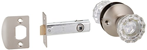 Belwith Products 1148-SN Satin Nickel Pass Door Knob/Latch ()
