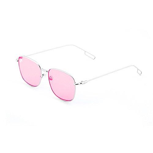 Plata de Gafas sol hombre mujer Rosa espejo degradadas TANNING TWIG Transparent 8ZFqxw7F