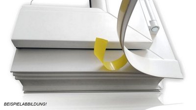Innovativ BawiTec PVC-Kunststoffleiste Abdeckleiste selbstklebend 100mm  BU08