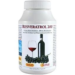 Resveratrol-200 60 Capsules