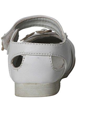 hija zapato velcro blanco