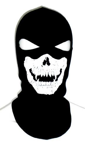 2 Eye Hole Vampire Skull Face Ghost SKI Mask Balaclava Full Hood ... 7bc663b40e5f