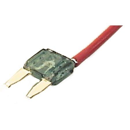 Accele Electronics - Mini ATM Pigtail Fuse 30 Amp/12 Pack