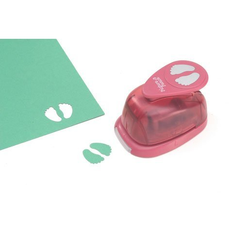 Bulk Buy: Darice DIY Crafts Picture Punch Baby Feet 1 inch (3-Pack) 21435-025
