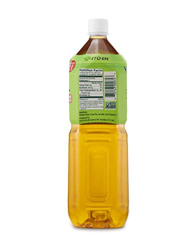 Oi Ocha Green Tea, 2 Liter Bottle (Pack of 6), No Sugar, No Artificial Sweeteners, Antioxidant Rich, Authentic Japanese Green Tea, Caffeinated, High in Vitamin C