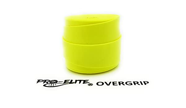 overgrip Pro Elite Confort Perforado Amarillo Flúor: Amazon.es ...