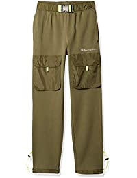 Men's Sideline Jogger with Woven Piecing