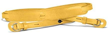 Leica Neck Strap for TL 2 (Yellow Leather) by Leica