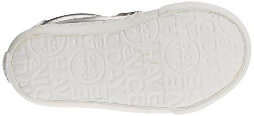 Gioseppo Candescent, Zapatillas con Velcro Niñas Plateado (Silver)