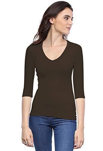 A Paris Donna shirt T 4 Rendez Vous Manica Choco 3 n4qRCXBw