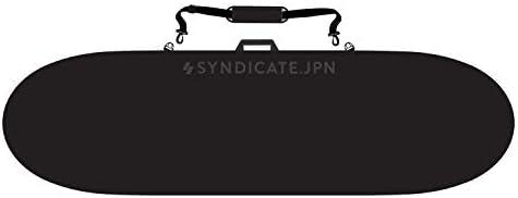 SYNDICATE シンジケート サーフィン ハードケース BOARD BAG LONG 9'6 ES-01180W9631 BLK 9'6