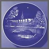1991 Bing & Grondahl Christmas Plate - Stock Exchange