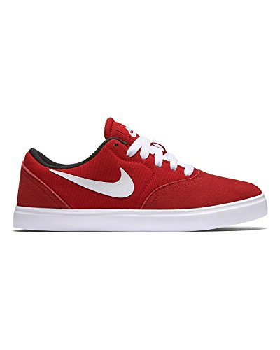 Nike Sb Check (gs) Baskets 705266 Baskets Chaussures Rouge
