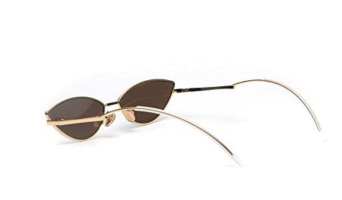 FEISEDY Fashion Designer Sunglasses Retro Small Petals Shape Arc Temple Design B2298 by FEISEDY (Image #2)