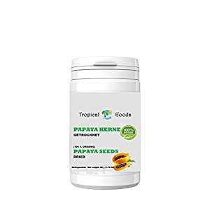 Gut Health Shop 31ooCCxNe3L._SS300_ 100% Organic Papaya Seed Dried 1.76 Oz (50 grams)