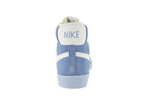 NIKE Blazer Mid Prm Vntg Suede Sneaker donna, Azzurro, 41
