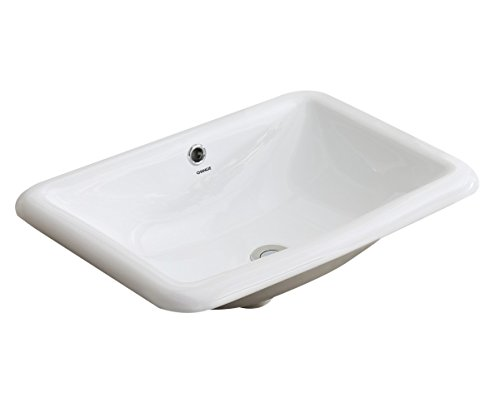 top mount sink bathroom changie 1027w bathroom top mount vanity sink porcelain 20990