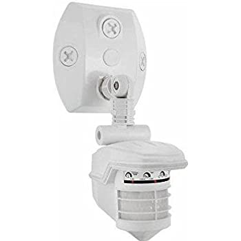 RAB Lighting STL360W Super Stealth 360 Sensor, 360 Degrees View Detection, on