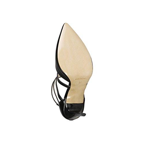 V 1969 - SELINE_NERO Scarpe Col Tacco Pumps Donna Tacco: 9.5 cm