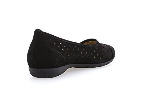 Gabor Women's Casual Ballet Flats Black Size: 12 UK Ik0Ng8