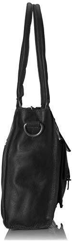 Edgemore B H T femme Inch cm Black Bag COWBOYSBAG Sacs 2x2x2 Noir menotte x 15 PxHgZq5Ow