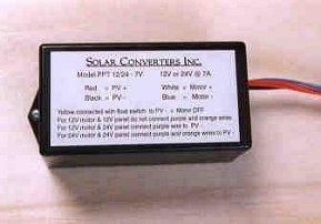 Solar Converters PT 12/24-5 5 Amp 12V or 24V Configurable MPPT Charge Controller by Solar Converters