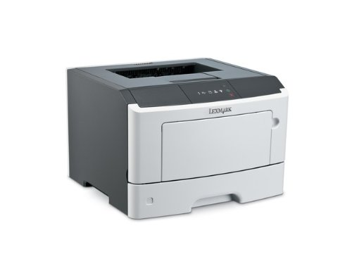 Lexmark MS510DN Laser Printer - Monochrome - 1200 x 1200 dpi Print - Plain Pa