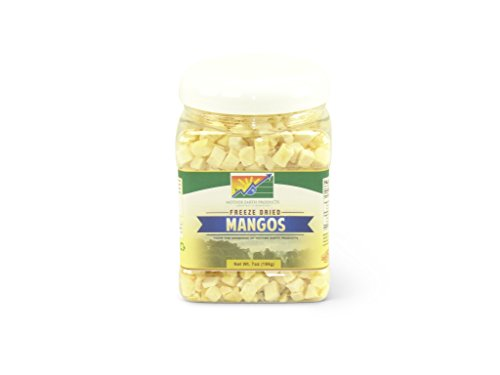 Mother Earth Products Freeze Dried Mangos, Quart Jar by Mother Earth Products